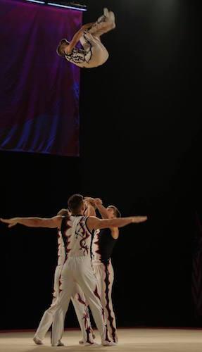 Acrobatic Gymnastics Men's 4 dynamic