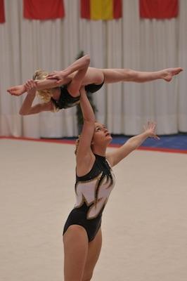 Women's pair - Honiton - Acrobatic Gymnastics